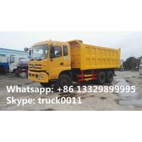 factory direct sale dongfeng teshang 6*4 25tons dump tipper truck with cheapest price,  dongfeng brand dump tipper truck