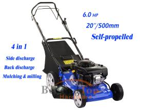 China 4 in 1 hand push lawn mower on sale