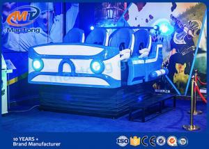 China Virtual Reality Simulation Rides Virtual Reality 9D Cinema Amusement Ride 9D VR on sale