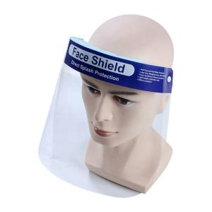 China Medical Clear Plastic Face Shield , Protective Face Shield Increased Air Flow on sale