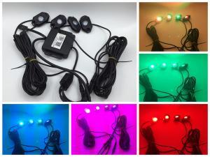 China RGB Mini Mobile Phone APP Control 9W RGB Led ROCK Light with Bluetooth Control on sale