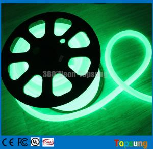 China 25m roll green pvc 360 degree led neon flex for bridge on sale
