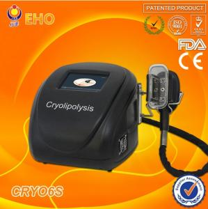 China cryo6s portable cryolipolysis with antifreeze membrane on sale