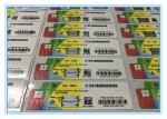 COA License Sticker Windows 10 Pro Product Key For OEM Software Customized