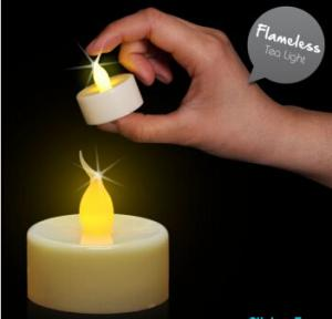 China Realistic Flame LED Tea Light Candle on sale