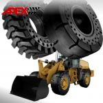 APEX 17.5-25 Solid Tire, Cushion Tyre for Wheel Loader, Integrated Tool Carrier, Elevating Motor Scraper