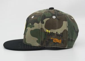 d33cb86c9bd77 ... Quality Cool Camouflage Printed Baseball Caps Acrylic 6 Panel 3D Puff   Flat  Embroidery for sale ...