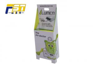 China CMYK Printing Cardboard Paper Trolley Box Easy Assembled With Handles For Advertising on sale