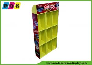 China Corrugate Sidekick Display Stand With Hooks And Pockets For Target Toys Hanging SK017 on sale