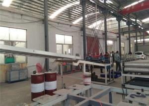 China Double Screw Extruder PVC Plastic Sheet Making Machine For Furniture Decoration on sale