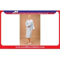 China Plus size M / L / XL / XXL Velour Luxury Womens Bathrobes , Personalized Spa Bathrobes on sale
