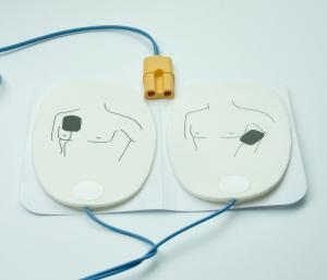 China Foam Material AED Defibrillator Pads AED Training Pads Philips / Zoll Machine Compatible on sale