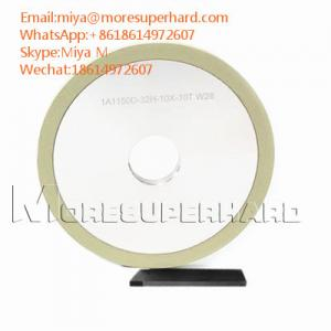 vitrified diamond wheel for PCD grooving tools surface
