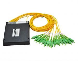 China 1310nm - 1610nm Fiber CWDM Mux Demux Module High Reliability Compact Design on sale