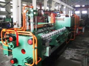 China Horizontal structure double acting aluminum profile extrusion machine on sale