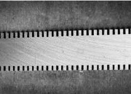 China High Hardness Customized Perforating Blade For Paper Rewinding Machine on sale
