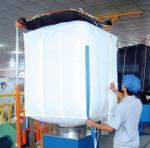 UV Treated Food Grade FIBC Rice Bulk Bag / Big Bag / Container Bag 100% Virgin PP