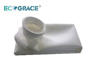 China ECOGRACE Industrial Dust Filtration PTFE Yarn Air Bag Filter With Non Woven on sale