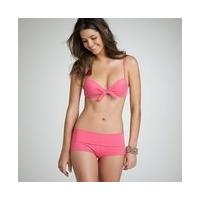 pink ruffle bikini cheap swimwear sexy bikini woman swimsuit maios string bikini swimsuit thong bandage halter bikini 20