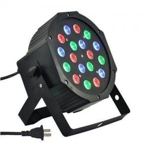 China 18*3W Flat Par 64 Led Lights , Disco Dj RGB Par Light Rainbow Effects on sale