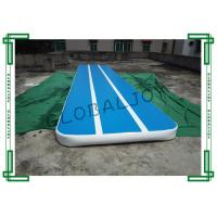 Customized Inflatable Gymnastics Mats , Gymnastics Air Tumbling Track