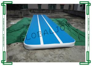 China Customized Inflatable Gymnastics Mats , Gymnastics Air Tumbling Track on sale