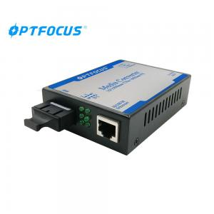 China SM 25Km SC 10 / 100M 1310nm Fiber Media Converter , Dual Fiber on sale
