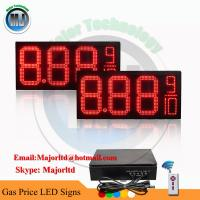 OUTDOOR WATERPROOF REMOTE CONTROL LED GAS PRICE SIGN DIGITAL CHANGER