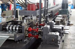 China petit pain de support de bobine de largeur de 15kw 320mm formant la machine avec de l'acier galvanisé on sale