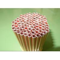 China 0.55mm Low Carbon Copper Coated Bundy Tube For Freezer , Bundy Tubing Company on sale