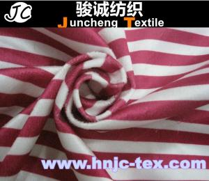 China 100% polyester plaid cotton imitation velvet fabric/Grid printed imitate cotton velveteen on sale