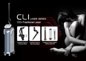 China Air Cooling rf facial Fractional Co2 Laser Machine , Fractional Co2 Laser 10600nm Skin Tightening Machine on sale
