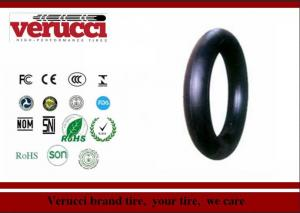 China 450-12 Butyl Wheelbarrow Tire Inner Tube Natural Rubber 600mm Elongation on sale