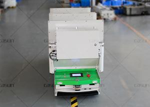 China Roller Conveyor AGV Autonomous Guided Vehicle Automatic Charging For Supermarket on sale