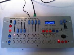 China Dj Equipment Mini 240ch Dmx Lighting Controller For Disco Stage Lighting supplier