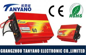 China 12v 60a Car Battery Power Supply Inverter , 3 Phase Car Power Converter on sale