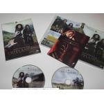 Región video de la estación dos calientes del Outlander del boxset 2DVD 120g del DVD de la serie televisiva de la venta la nueva libera