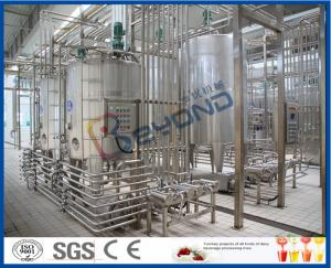 China 25000LPH Yoghurt / Cheese / Butter Dairy Processing Plant With SGS ISO 9001 on sale