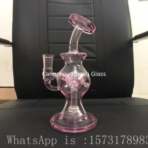 China glass water pipe  glass pipe Circulating water smoking  Glass smoking pipe on sale