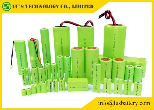 Nickel Metal Hydride Battery >> Rechargeable Nickel Metal Hydride Battery Cylindrical Single