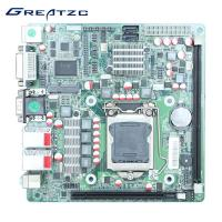 China ATX Power Intel H61 LGA1155 Motherboard , Mini ITX Motherboard H61 I3 I5 I7 on sale