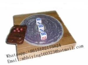 China 2017 Remote control dice/casino cheat/marked dice/game cheat/magnetic dice for dice cheat/magic trick/No magnetic on sale