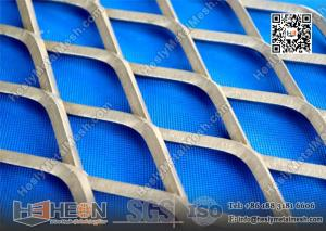 China 2.0X15X40mm Galvanised Expanded Metal Mesh on sale