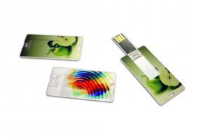 China Mini 256M, 512M, 1G Credit Card USB Drives logo printed with OEM available (MY-UC10) on sale