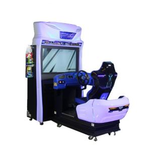 China Coin Operated Car Game Simulator Racing Arcade Machine For Shop on sale