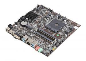 China NEWSMAY A320 Amd Ryzen Mini Itx Motherboard AM4/M.2/HMDI/VGA/LVDS/USB 3.0/DDR4 on sale