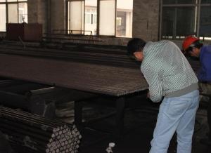 China Hot Roll Carbon Steel Seamless Pipe EN10216-1 , Black Painting / Varnish Steel Tube on sale