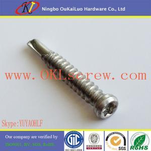 China Trim Head Torx Drive Stainless Steel Self Drilling Screws on sale