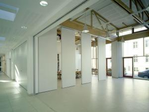 China Conference Room Movable Partition Walls , Aluminium Commercial Acoustic Room Dividers on sale