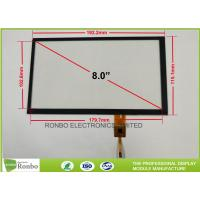 China Touch Screen Projected Capacitive Touch Panel 8.0 Inch High Transmission Controller GT911 on sale